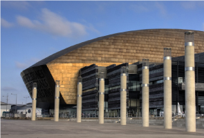 Photograph of Wales Millennium Centre in Cardiff